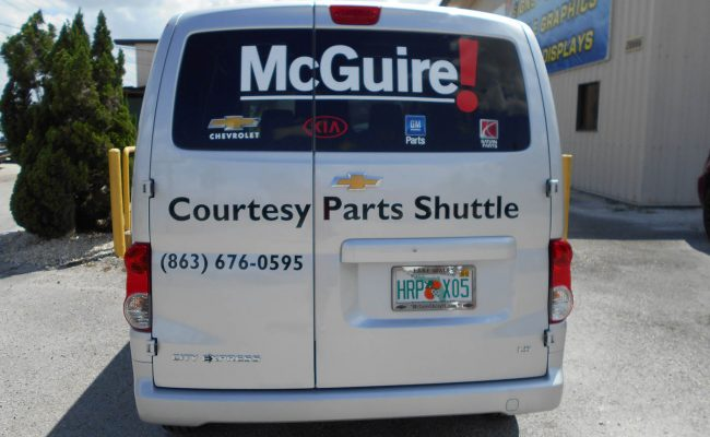 Commerical Vehicle Graphic Decals & Vinyl Lettering 02