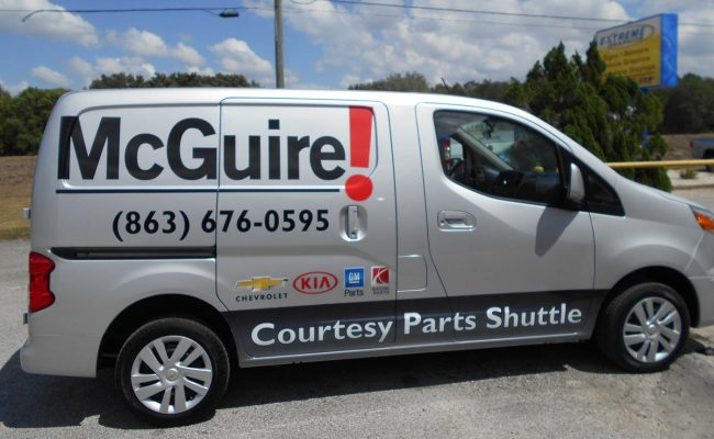 Commerical Vehicle Graphic Decals & Vinyl Lettering 03