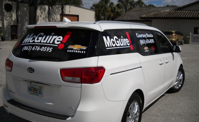 Commerical Vehicle Graphic Decals & Vinyl Lettering 05
