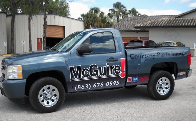 Commerical Vehicle Graphic Decals & Vinyl Lettering 06