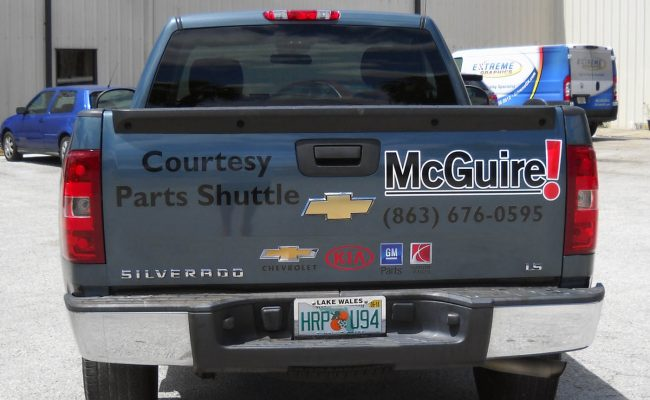 Commerical Vehicle Graphic Decals & Vinyl Lettering 07