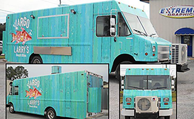 Custom Commerical Food Truck Wrap Graphics 2