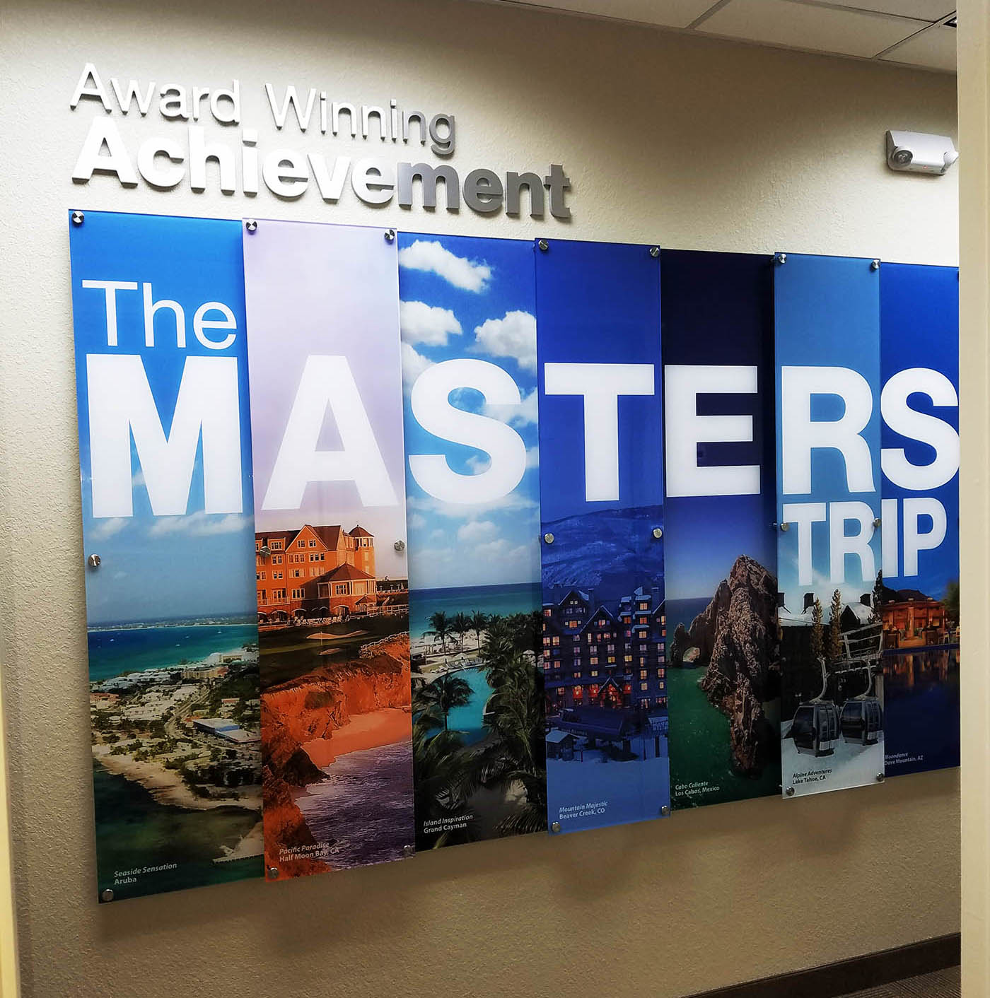 Custom Graphic Dimensional Wall Displays