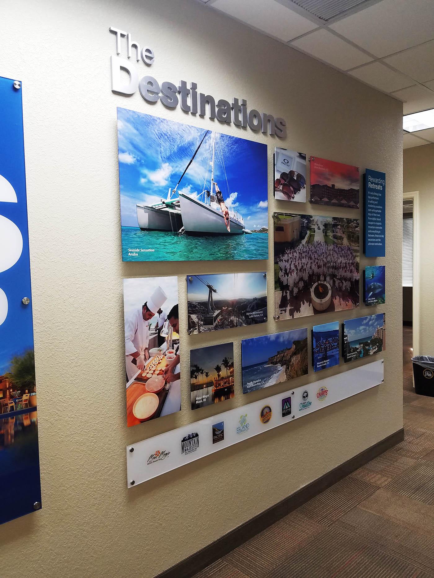 Custom Graphic Dimensional Wall Displays