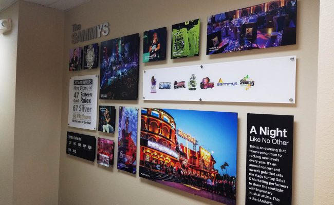 Custom Dimensional Wall Display Acrylic Graphic Prints 3