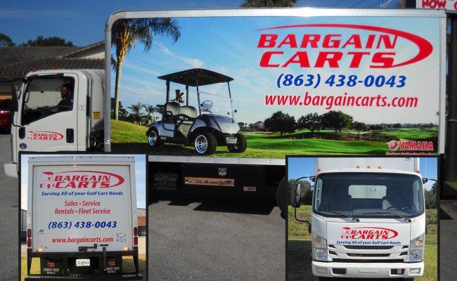 Custom Truck wrap graphics