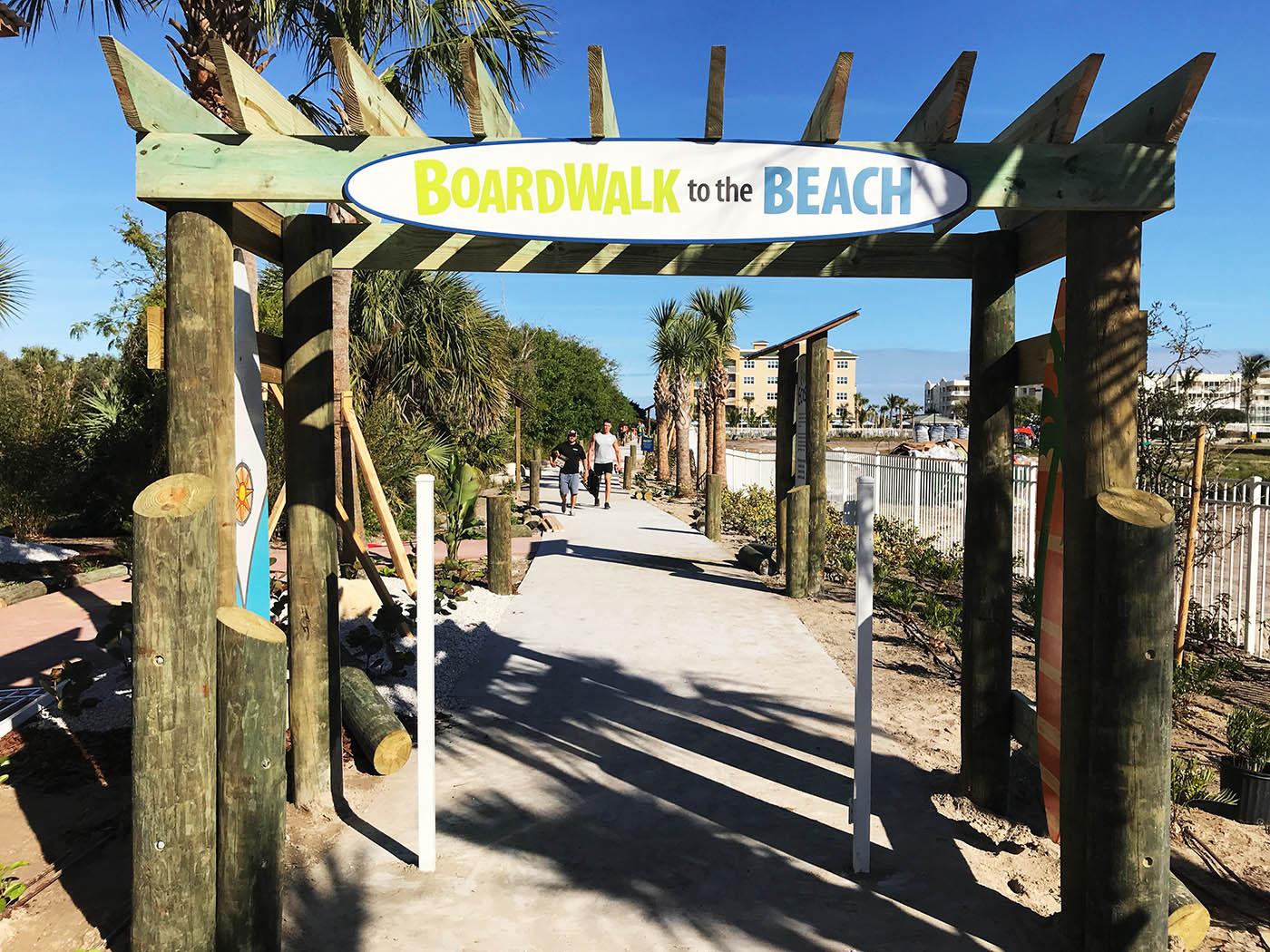 Board walk Nature Trail