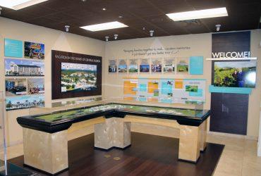 Sales Center Signage
