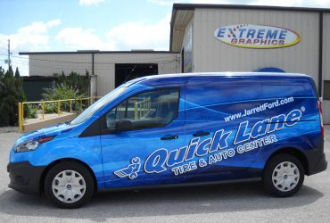 Commercial Van Wrap