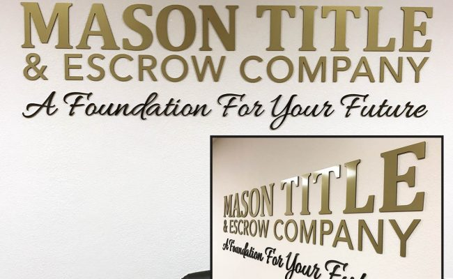 Signs Dimensional Lettering & Logo 11