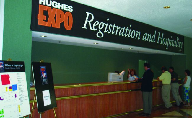 Signs Event Registration Point of Purchase