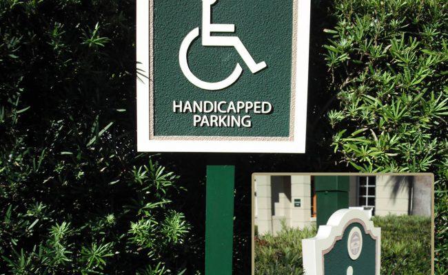 Signs Handicap Parking 01