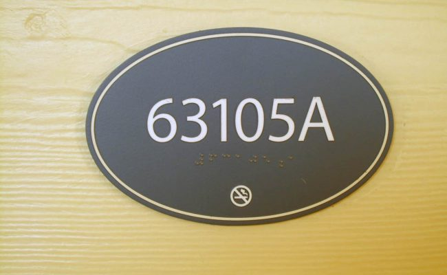 Signs Way Finding Braille Room 02
