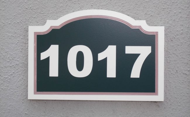 Signs Way Finding Building Number 05