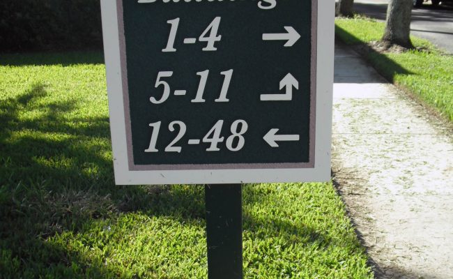 Signs Way Finding Directional 10