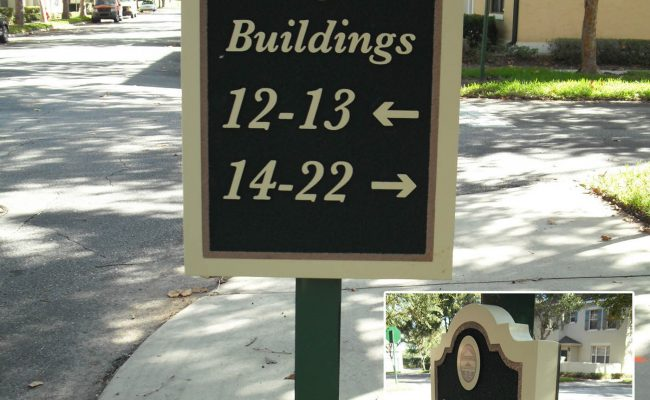 Signs Way Finding Directional 12