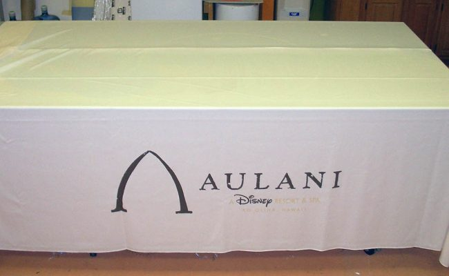Trade Show Table Drape 02