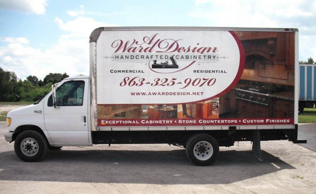 Vehicle Graphics Lettering Trucks 01