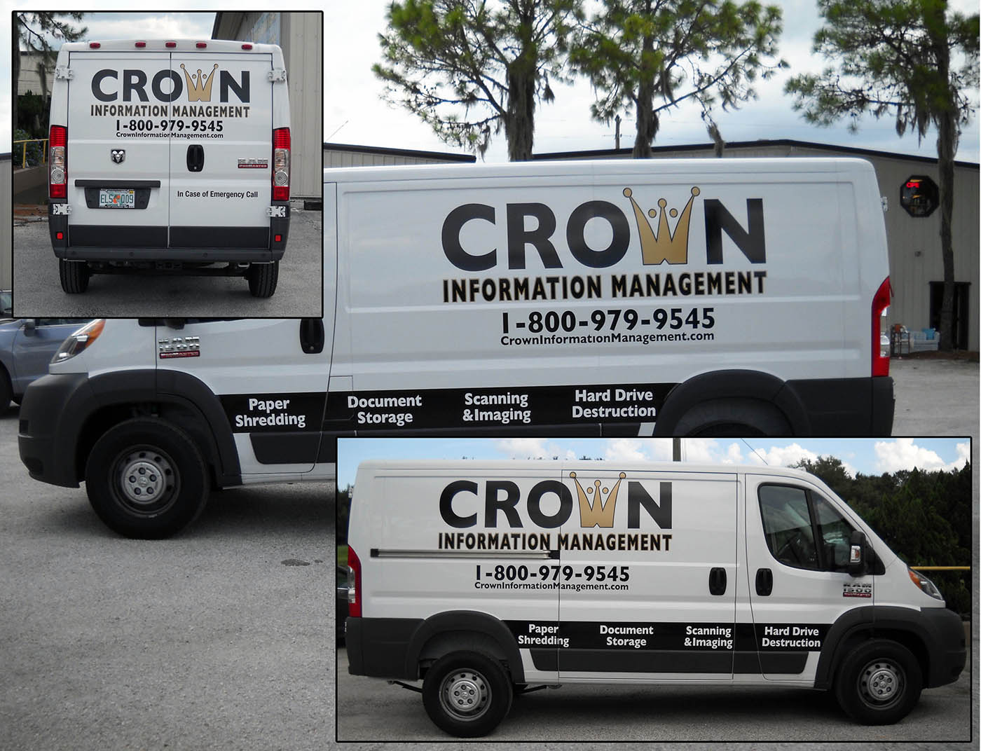 71dd4bb142e0b4 Vehicle Graphics Lettering Vans 02 - Extreme Graphics