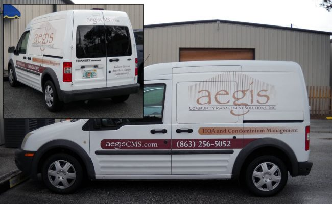Vehicle Graphics Lettering Vans 04