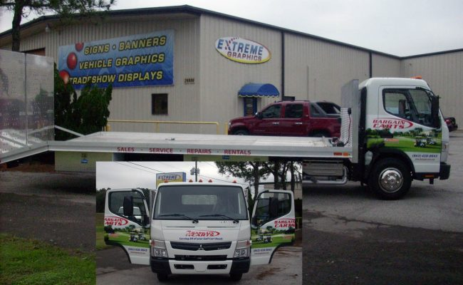 Vehicle Graphics Wrap Lettering 01