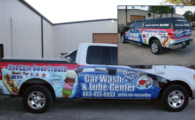 Vehicle Graphics Wraps Trucks 01