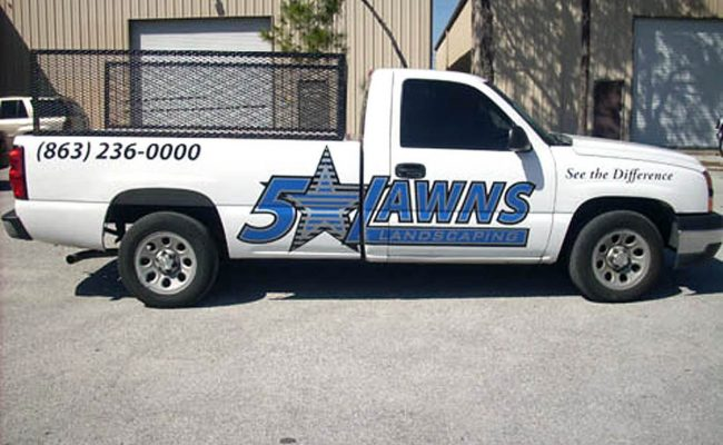 Vehicle Graphics Wraps Trucks 04