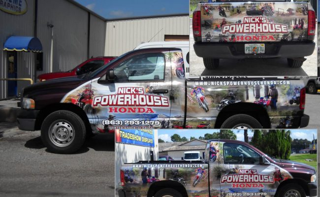 Vehicle Graphics Wraps Trucks 08