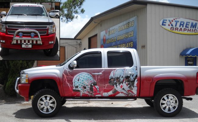 Vehicle Graphics Wraps Trucks 09