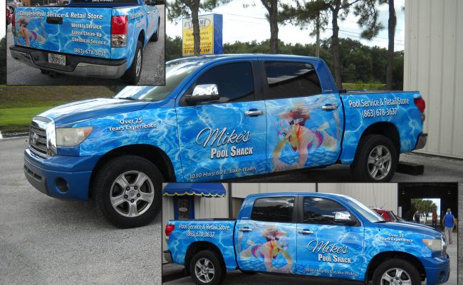 Vehicle Graphics Wraps Trucks 10