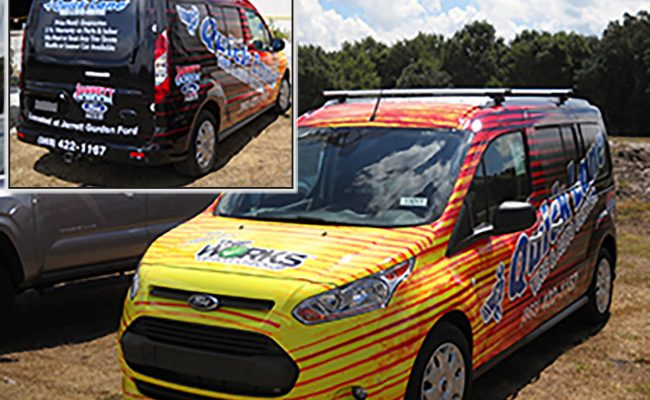 Vehicle Graphics Wraps Vans 11