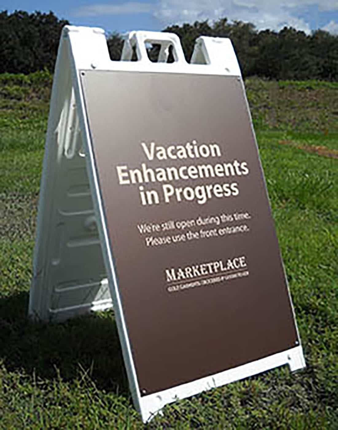 A-Frame Portable Sign Stand