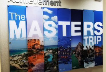Custom Dimensional Wall Displays