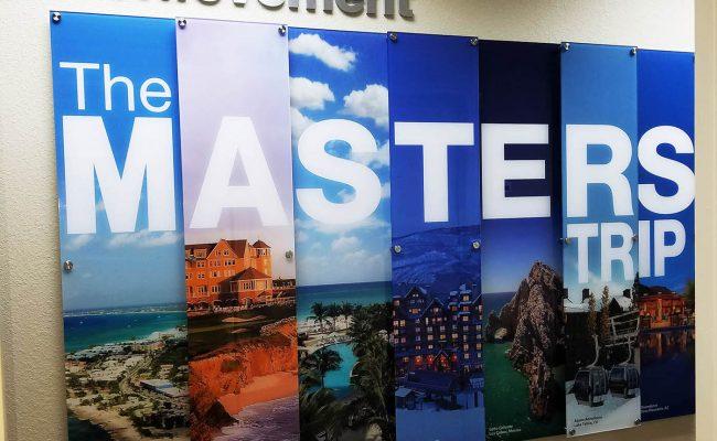 Custom Dimensional Wall Display Acrylic 08