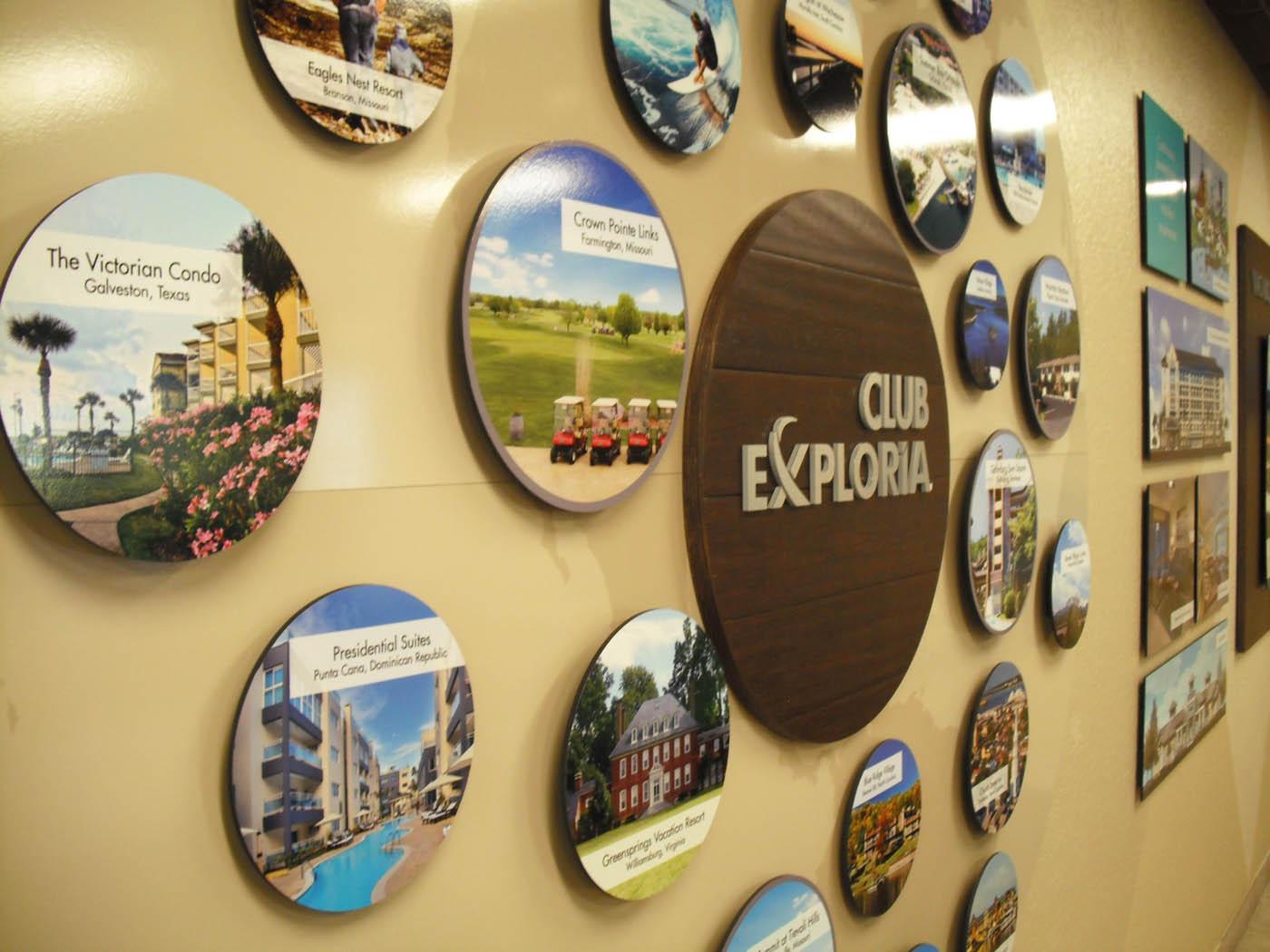 Custom Fabricated Wall Displays