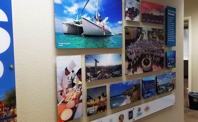 Custom Dimensional Wall Display Acrylic Graphic Prints 2