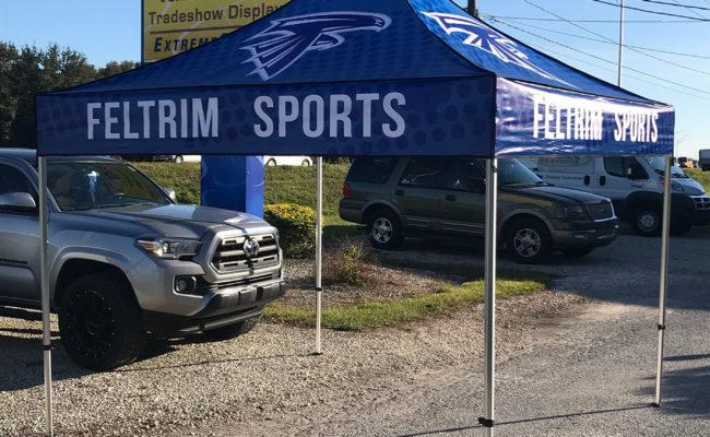 Custom Tent Display Sign Shop
