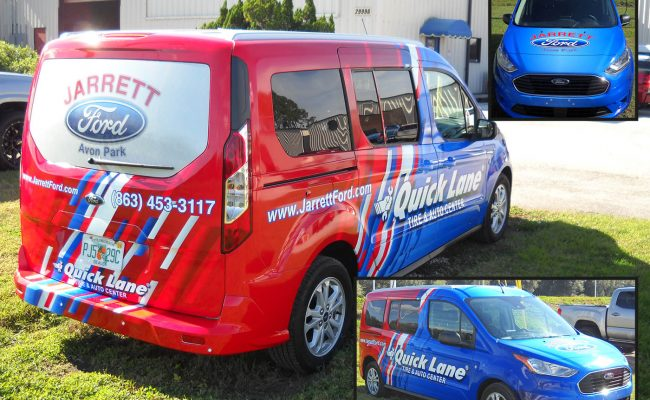 Custom Van wrap graphics 2