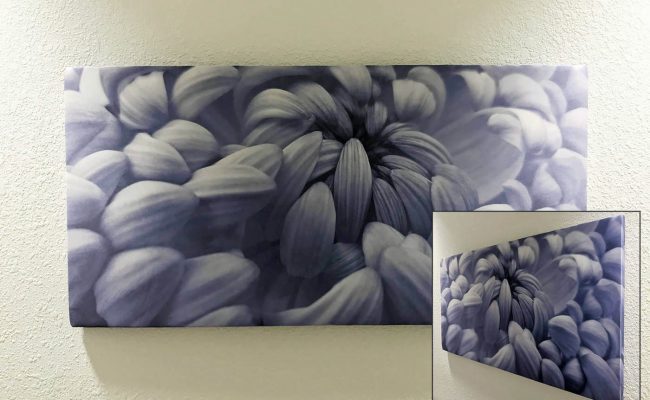 Custom acoustic fabric print 1