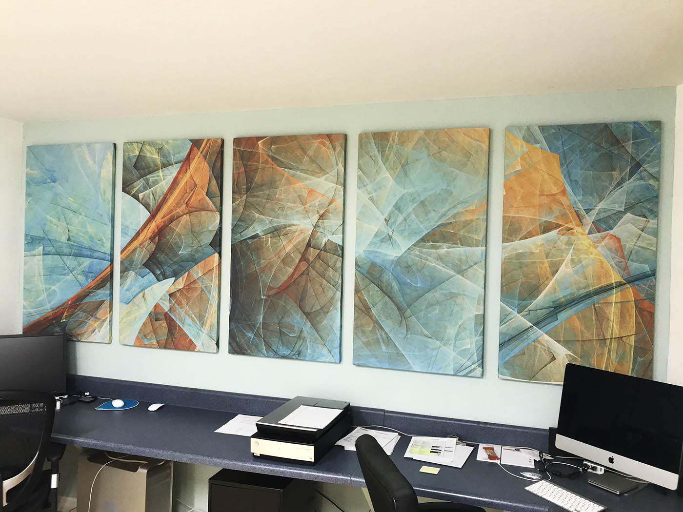 Acoustic Fabric Panel Print