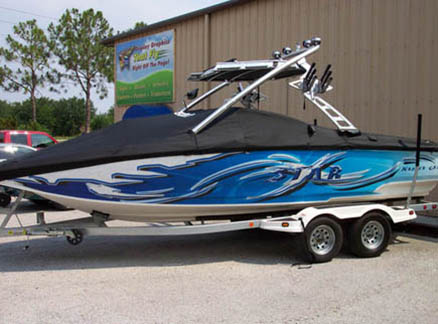 Custom boat wrap 2