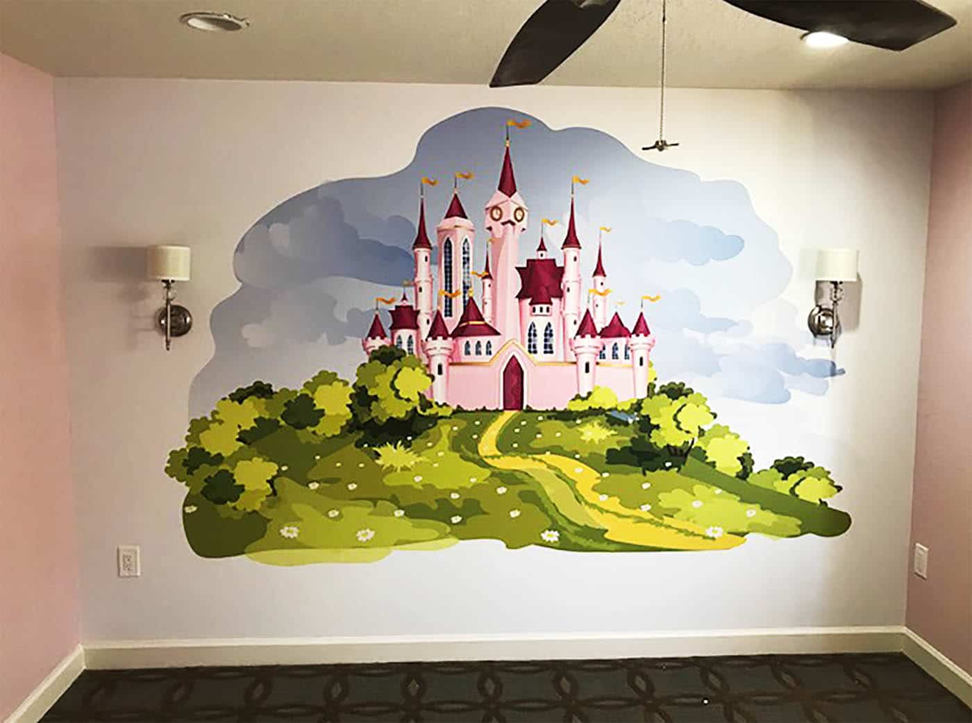 Murals and Wallcovering