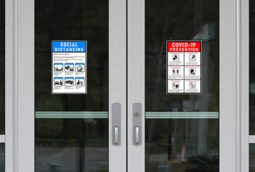 Door Decal Signs