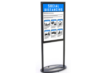 Poster Stand Sign