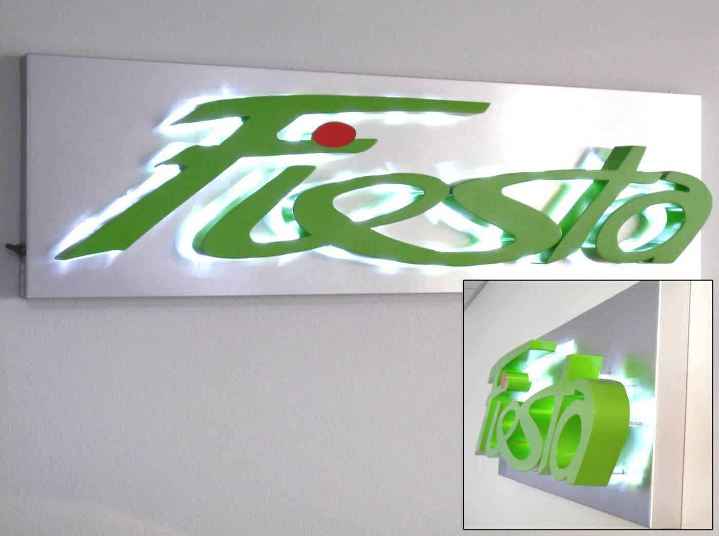 Custom Fabricated Signage