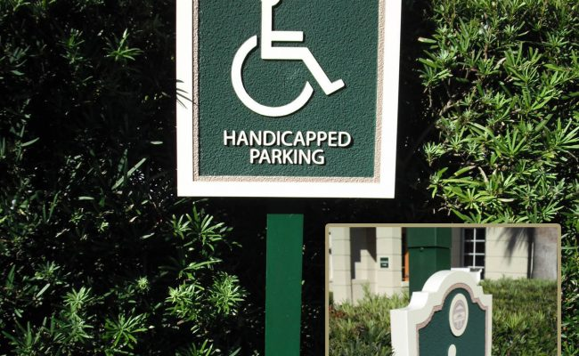 Signs Handicap Parking 01