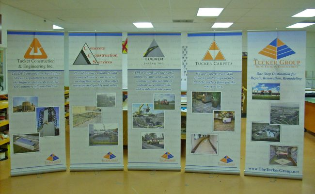 Trade Show Display Retractable Banner Stand 11